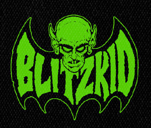 """Blitzkid - Nosferatu 5x4"""" Printed Patch"""