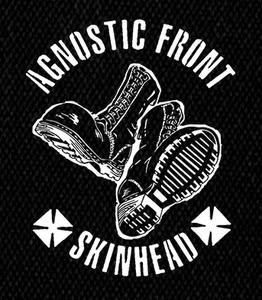 "Agnostic Front - Skinhead 5x6"" Printed Patch"