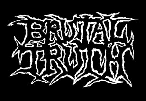 "Brutal Truth - Logo 5x4"" Printed Patch"