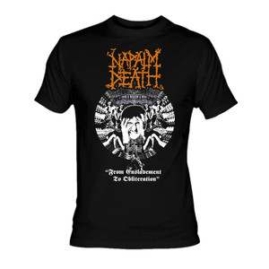 Napalm Death - From Enslavement To Oblitheration T-Shirt