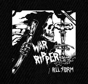 "War Ripper - Hell Storm 5x5"" Printed Patch"