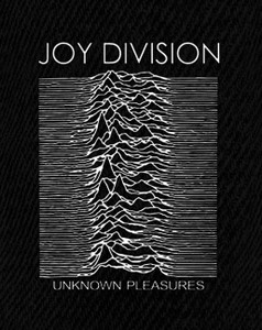 "Joy Division - Unknown Pleasures 6x5"" Printed Patch"
