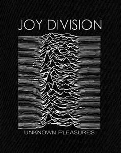 "Joy Division - Unknown Pleasures 6x5"" Printed Patch"