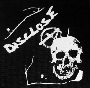 "Disclose - Skull 5x5"" Printed Patch"