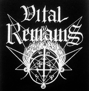 "Vital Remains - Logo 5x5"" Printed Patch"
