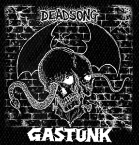 "Gastunk - Deadsong 5x5"" Printed Patch"