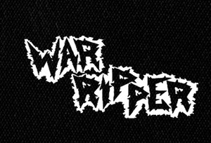 "War Ripper - Logo 7x4"" Printed Patch"