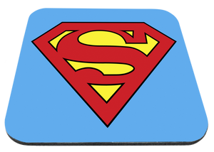 "Superman Logo 9x7"" Mousepad"