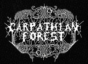 "Carpathian Forest - Logo 5x4"" Printed Patch"