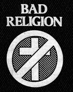 "Bad Religion - Cross 5x4"" Printed Patch"