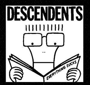 "Descendents - Milo 6x6"" Printed Patch"