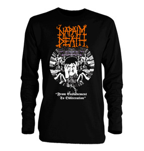 Napalm Death - From Enslavement To Oblitheration Long Sleeve T-Shirt