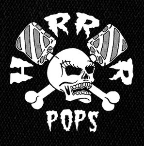 "Horrorpops - Logo 4x4"" Printed Patch"