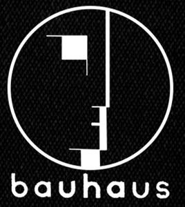 """Bauhaus - Logo 3x4"""" Printed Patch"""