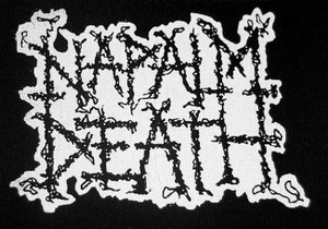 "Napalm Death - Logo 5x5"" Printed Patch"