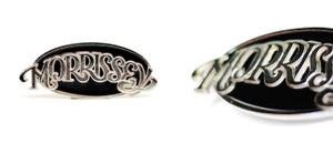 Morrissey - Logo Metal Large Belt Buckle