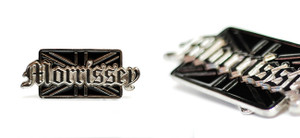 Morrissey - England Metal Small Belt Buckle