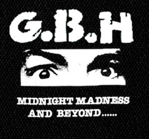 "G.B.H. - Midnight Madness and Beyond 6X5"" Printed Patch"