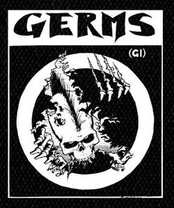 "Germs - GI 4x5"" Printed Patch"