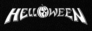 "Helloween - Classic Logo 7x3"" Printed Patch"