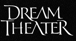 "Dream Theater - Logo 6x4"" Printed Patch"