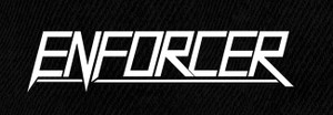 "Enforcer - Logo 7x4"" Printed Patch"