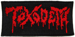 "Toxodeth - Logo 4x2"" Embroidered Patch"
