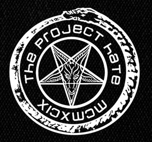 "The Project Hate - Round MCMXCIX 4x4"" Printed Patch"