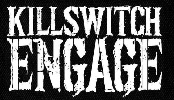 killswitch engage - logo printed patch