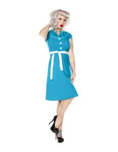 Folter - Aye Aye Captain Turquoise Dress