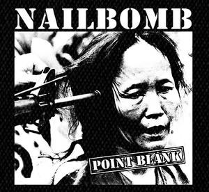 "Nailbomb - Point Blank 4x4"" Printed Patch"
