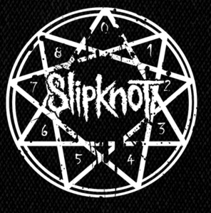 "Slipknot - Logo 4x4"" Printed Patch"