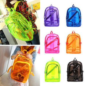 See-Through Jelly Back Packs!