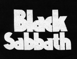 "Black Sabbath - Logo 5x4"" Printed Patch"