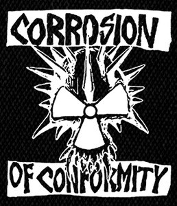 "Corrosion of Conformity -  Classic logo 5x5"" Printed Patch"