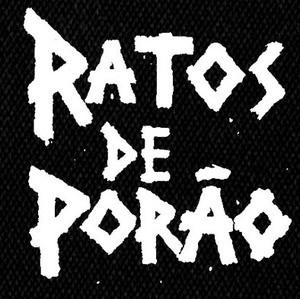 """Ratos de Porao - Logo 4x4"""" Printed Patch"""