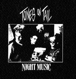 "Tones on Tail - Night Music 5x5"" Printed Patch"