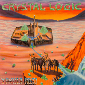 "Manilla Road - Crystal Logic 4x4"" Color Patch"
