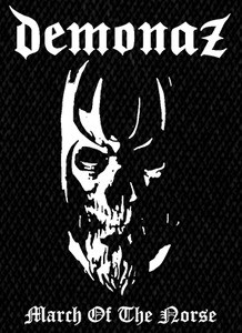"Demonaz - March of the Norse 4x6"" Printed Patch"