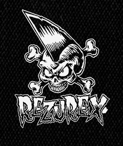 """Rezurex - Logo 4x6"""" Printed Patch"""