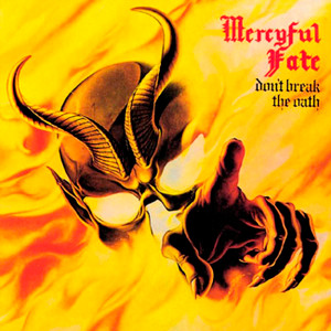 "Mercyful Fate - Don't Break The Oath 4x4"" Color Patch"