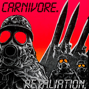 "Carnivore - Retaliation 4x4"" Color Patch"