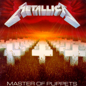 """Metallica - Master of Puppets 4x4"""" Color Patch"""