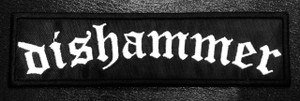 "Dishammer - Logo 6x1"" Embroidered Patch"