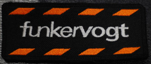 "Funker Vogt - Logo 4x2"" Embroidered Patch"