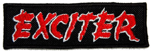 "Exciter - Logo 5x1.5"" Embroidered Patch"