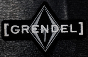 "Grendel - Logo 4x2.5"" Embroidered Patch"