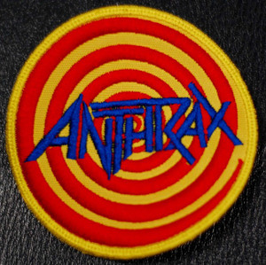 "Anthrax - Euphoria 4x4"" Embroidered Patch"