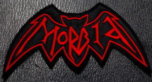 "Morbid - Logo 4 x 2.5""  Embroidered Patch"