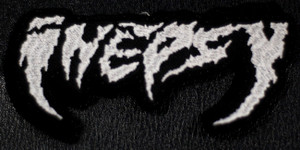 """Inepsy - Logo 4.5x2.5"""" Embroidered Patch"""